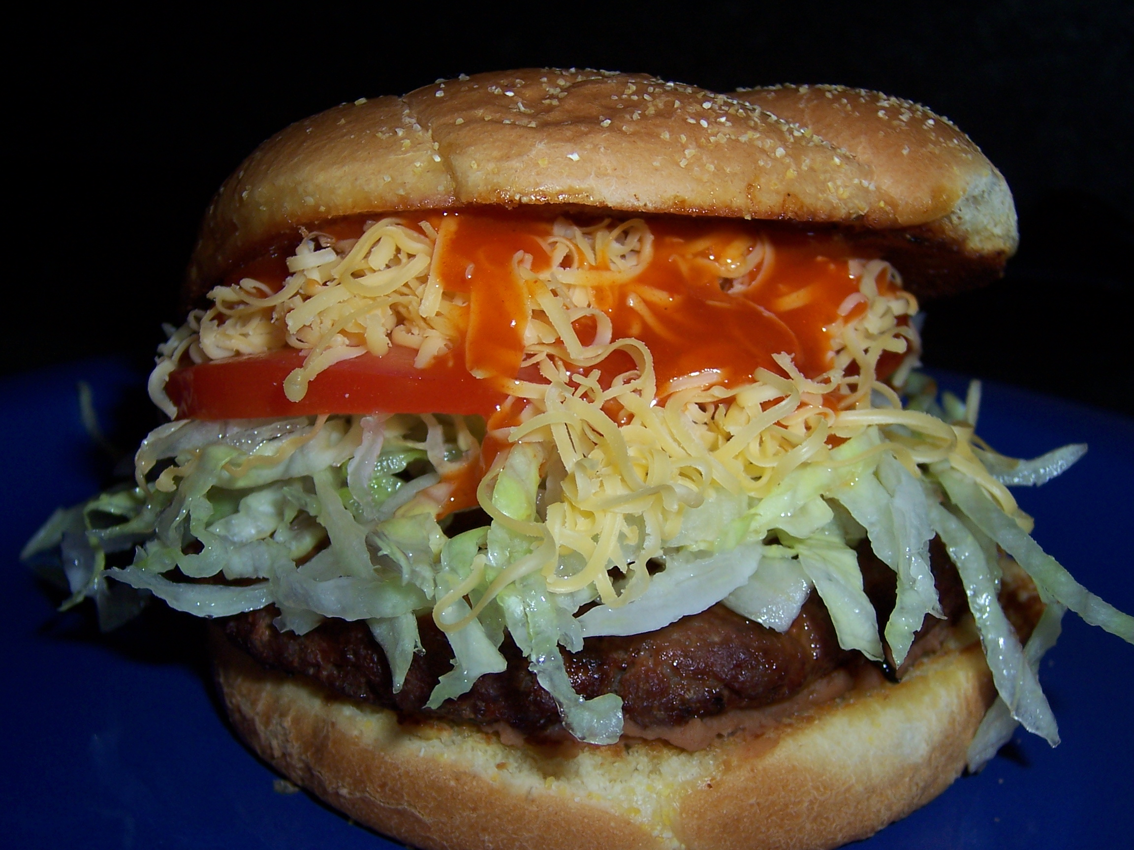 Tasty Taco Burger | One Stop Cook