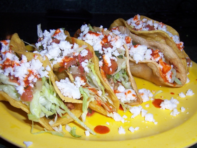 Crispy mexican style grilled chicken tacos one stop cook here is a great chicken taco recipe with a slight twist from the normal shredded chicken taco these have grilled chicken that is done on the barbecue forumfinder Choice Image