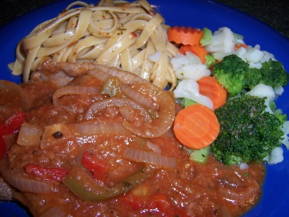 Braised Italian Steak Dinner