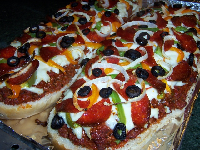 Incredible French Bread Pizza!