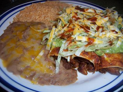 Grilled Pork Enchiladas