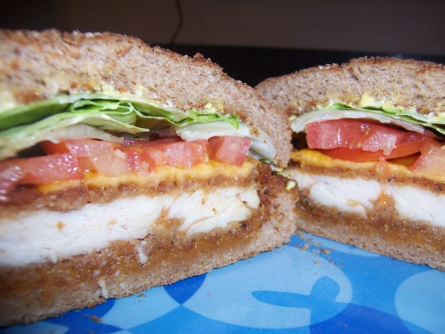 Crispy Chicken Sanwich